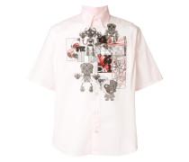 robot print shirt