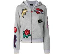 Unlove hoodie sweatjacket
