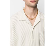 L ball chain necklace