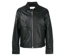 front pocket zip jacket