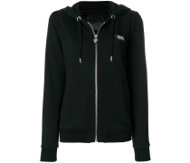 Glichin zipped hoodie