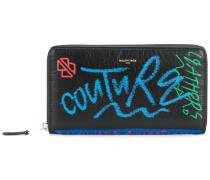 Bazar Continental Graffiti Wallet