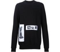 Sweatshirt mit Foto-Patches