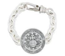 medal thick bracelet