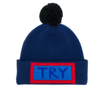 Try embroidered beanie
