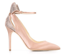 'Magda' Pumps - women - Seide/Leder/Metall