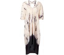 'Plus' Kleid mit Batikmuster