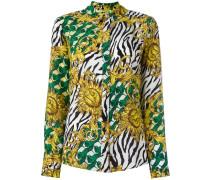 Seidenhemd mit Print - women - Seide - 42