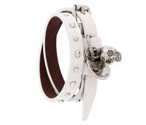 studded double wrap bracelet