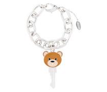 Armband mit Teddy-Schlüsselanhänger