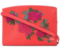 fire floral leisure shoulder bag