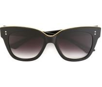 Vergoldete 'Daytripper' Sonnenbrille