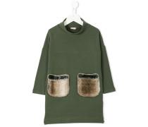 fur pockets dress