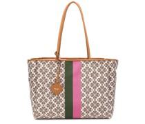 Handtasche mit Kleeblatt