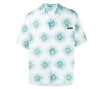 Hemd mit Batikmuster