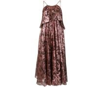 Oversized-Kleid im Metallic-Look