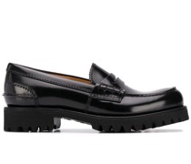 Cameron brushed leather loafers