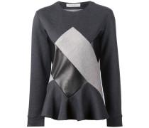 Sweatshirt im Patchwork-Stil