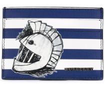 'Pallas Heads 1954' striped card holder - men
