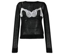 Pullover mit Lingerie-Design