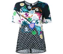 T-Shirt mit Blumen-Print - women - Viskose - 8
