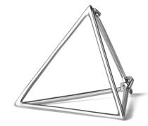 Dreieckiger Ohrring