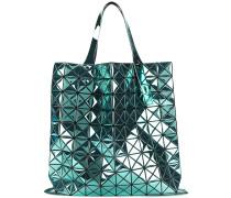 Große 'Prism' Handtasche mit Metallic-Effekt
