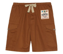 Cargo-Shorts mit Patch