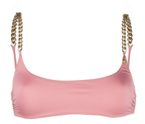 chain-link trim bikini top