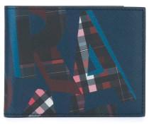 - Portemonnaie mit Logo-Print - men - Kalbsleder