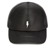 lightning bolt plaque cap