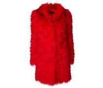concealed fastening fur coat - Unavailable