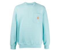 Sweatshirt mit aufgesetzter Tasche