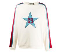 Sweatshirt mit GG-Stern