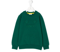Sweatshirt mit Frosch-Motiv