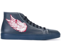 Bestickte 'Pegasus' High-Top-Sneakers