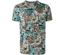 T-Shirt mit Küsten-Motiv - men - Baumwolle - S