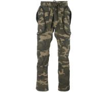 Hose mit Camouflage-Print - men - Baumwolle - S