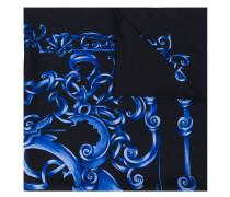 Seidenschal mit barockem Muster