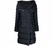 double-breasted padded coat