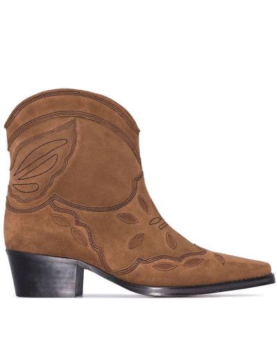 'Texas 40' Wildleder-Stiefeletten