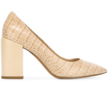 'Lin' Pumps in Krokodilleder-Optik