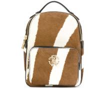 Mini Rucksack mit Zebramuster