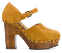 'Zoccolo Crosta' Sandalen mit Absatz