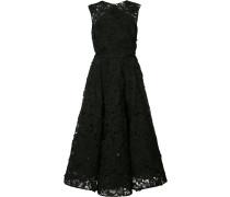 Kleid mit floraler Spitze - women - Baumwolle