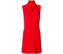 neck drape dress