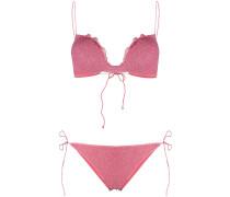Bikini im Glitter-Look