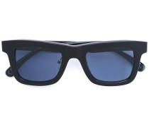 Eckige Sonnenbrille - unisex - Acetat