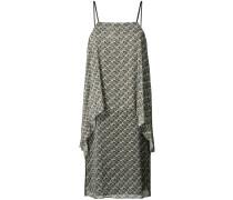 - Drapiertes Kleid mit Print - women - Seide - 2