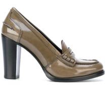 Pumps mit Absatz im Loafer-Look